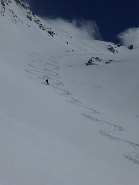 Randonnée à ski du club alpin de Bagnères-de-Bigorre au Turon du Néouvielle