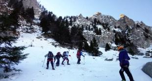 Sortie alpinisme de l'école d'aventure du Club Alpin de Bagnères de Bigorre