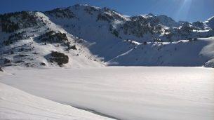 Lac dets coubous et sommet de la Touatère