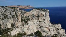 La falaise du Castelvieil