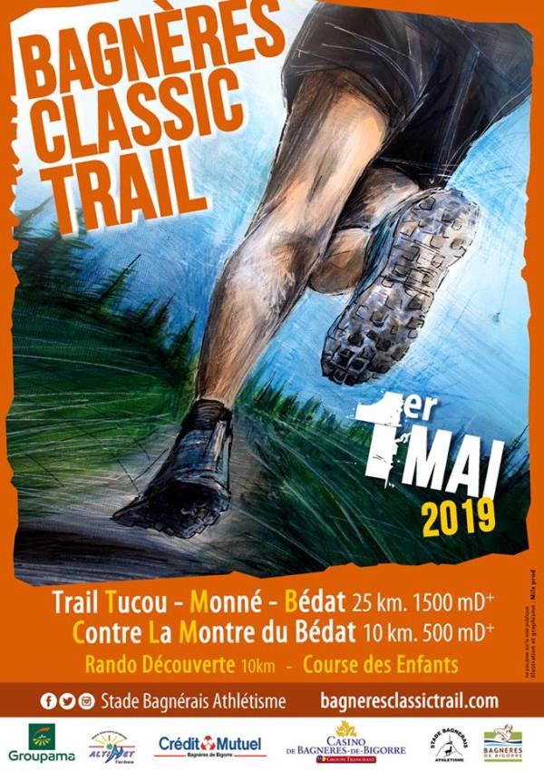 Course Bagnères Classic Trail Tucou Monné Bédat 2019