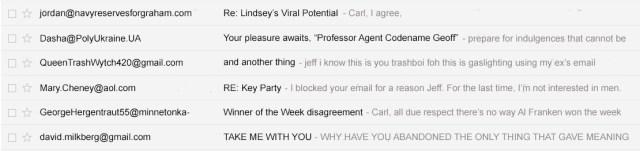 professor jeff emails