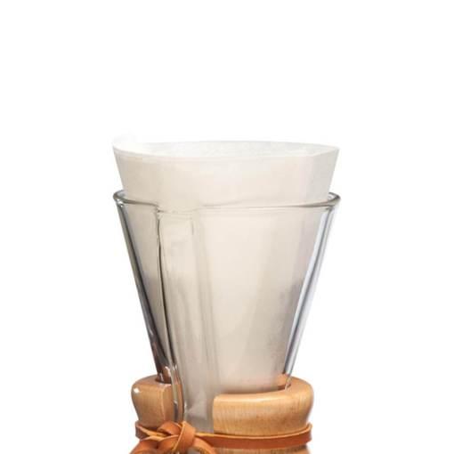 Filtros para Chemex 3 tazas (100 unidades)