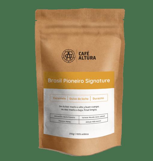 Bolsa de café en grano de Brasil