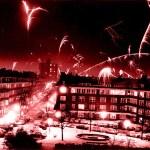 Vuurwerk in de Jekerstraat