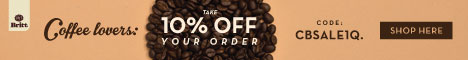Take 10% OFF your order with code: CBSALE1Q. SHOP HERE