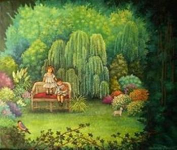 El jardín secreto 38 x 46