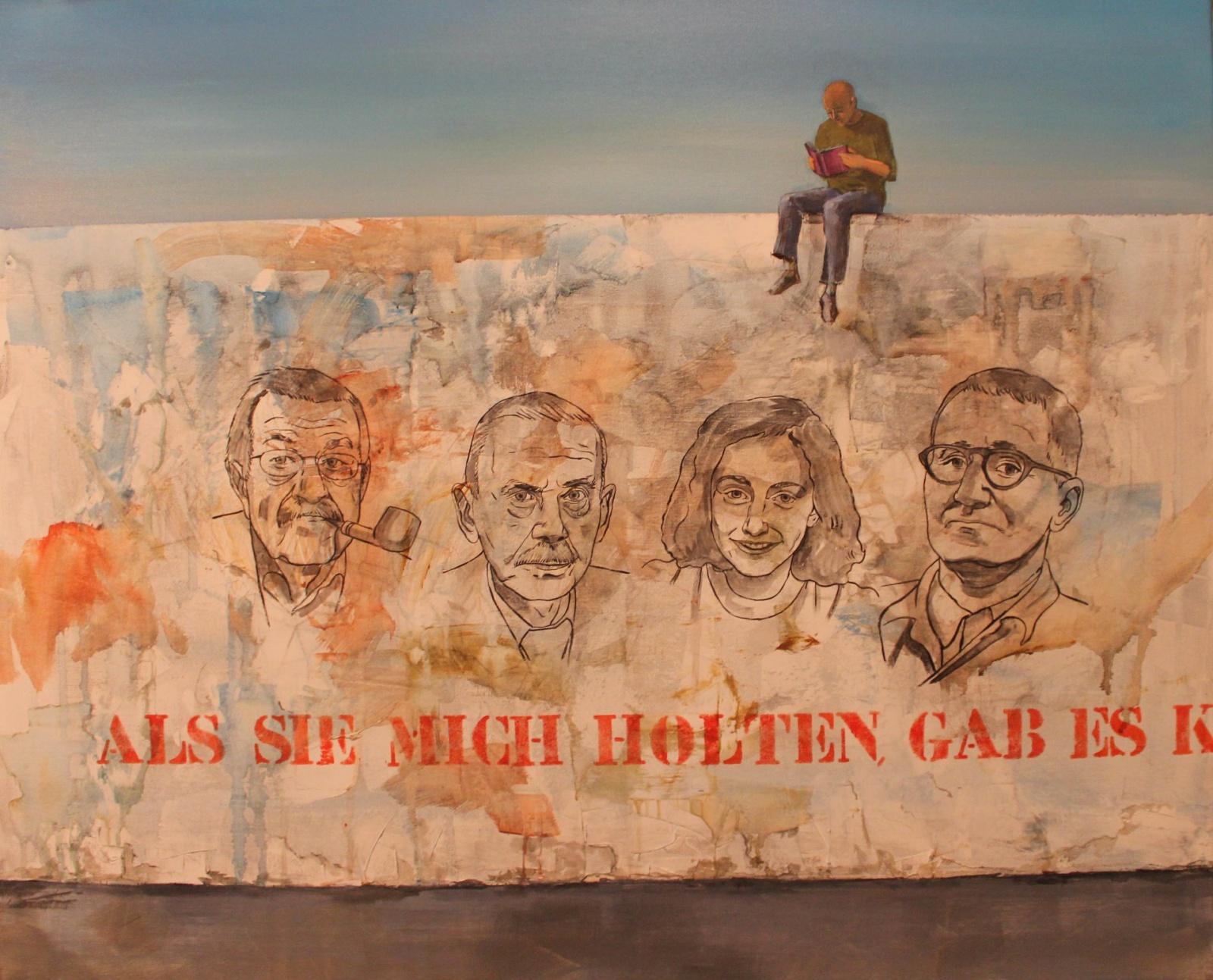 Günter Grass, Thomas Mann, Ana Frank, Bertolt Brecht,. El Arte Sanador de las heridas del ser humano.