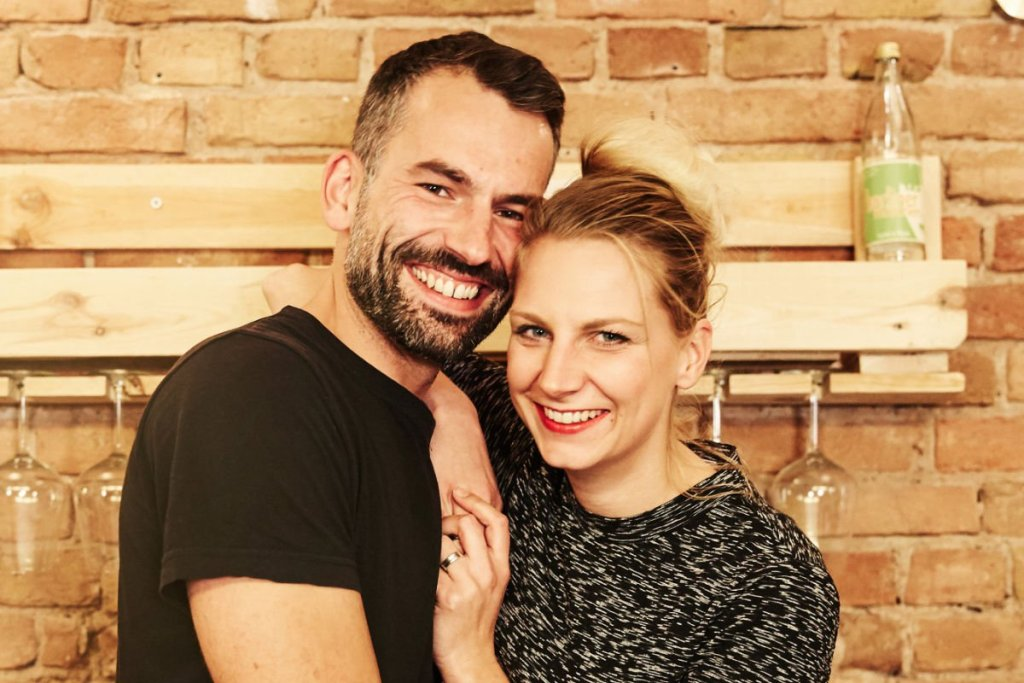 Alex & Nadine Café der Fragen Berlin