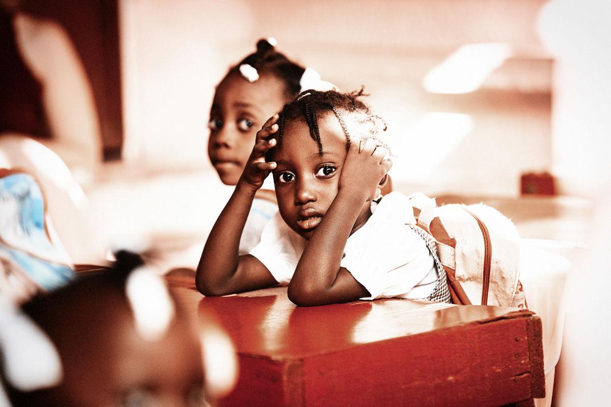 Haiti Waisenkinder by Carolin WIndel Fotografie