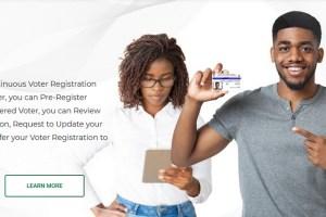 INEC Voters Registration (Pre–Enrollment) Online Portal   Biometric Verification