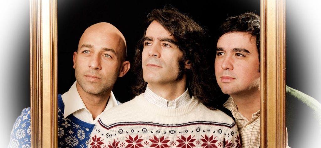 Cómo Vivir en el Campo. Miguel (derecha), Carlos (izquierda) y Pedro (centro)