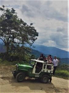 Willys jeep en finca las margaritas buenavista quindio