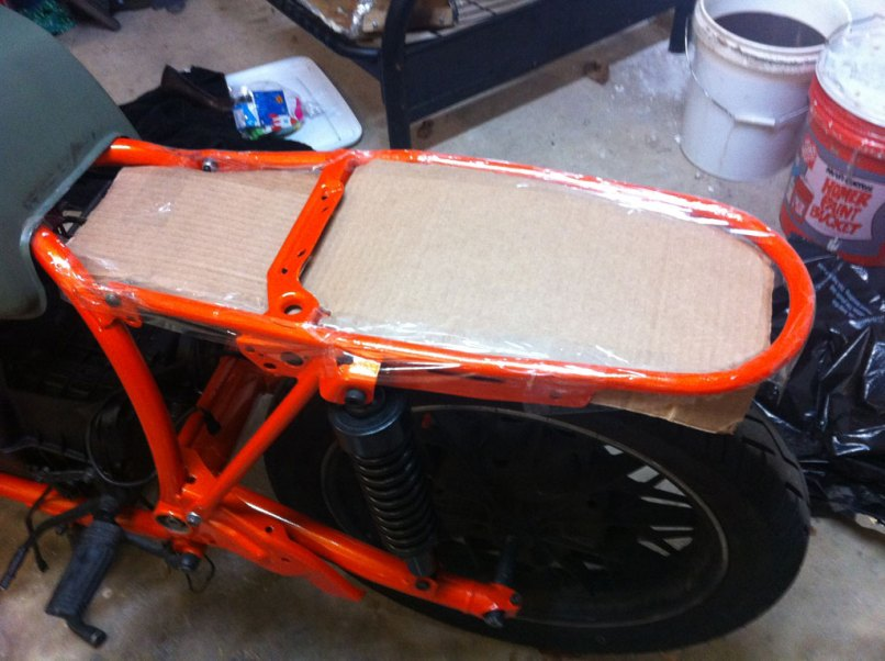 Making A Cafe Racer Seat