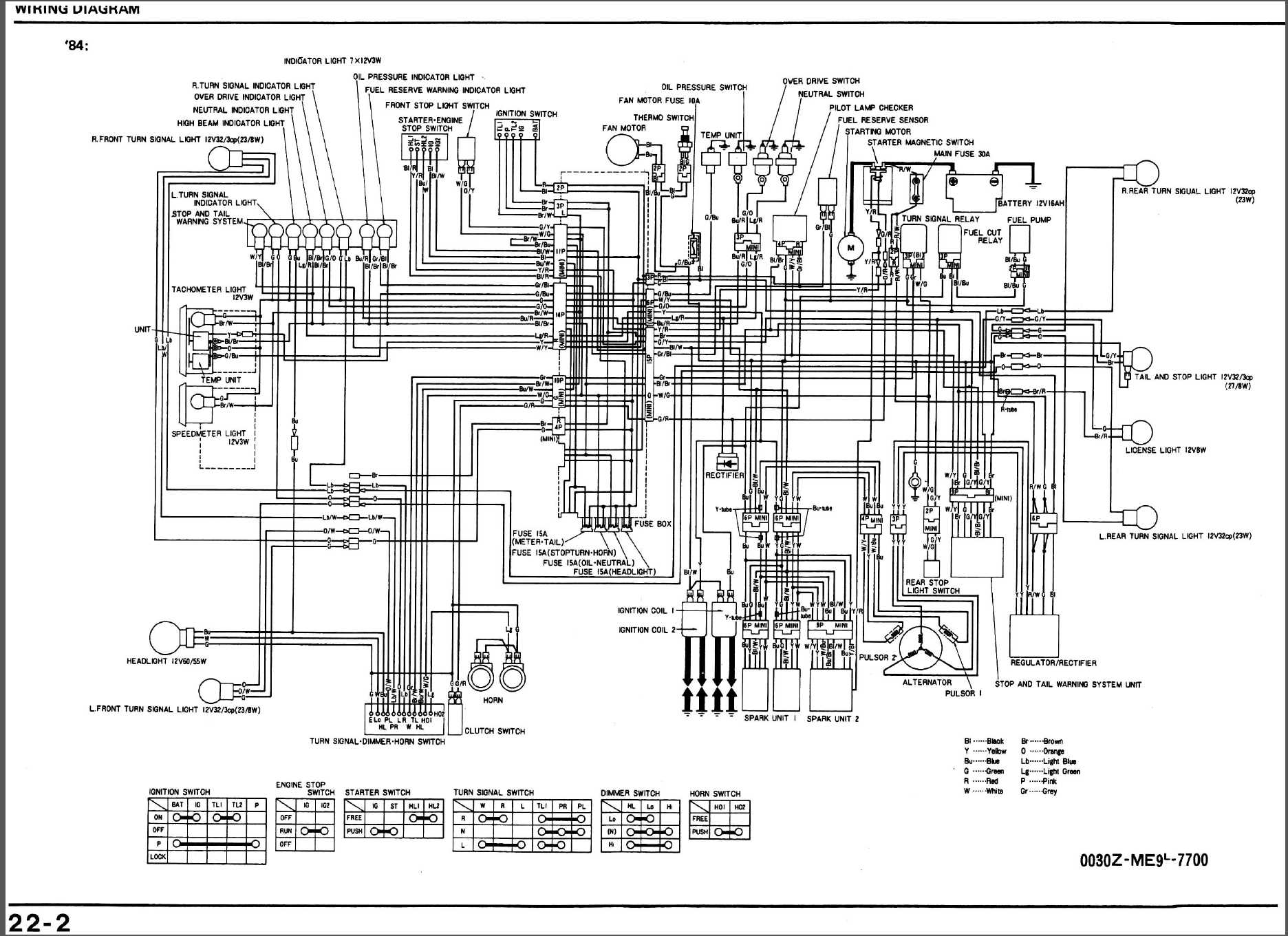 Honda Shadow Wiring Diagram Honda Wiring Diagram