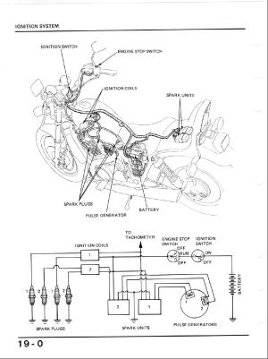1984 Honda Shadow 700  Best site wiring harness