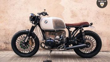 Bmw R100 Brat Style Panda by The Bike Lab