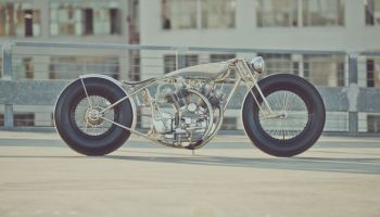 Royal Enfield Bobber The Musket by Hazan Motorworks