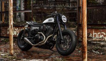 Yamaha XV950 Cafe Racer Speed Iron by Moto di Ferro 1