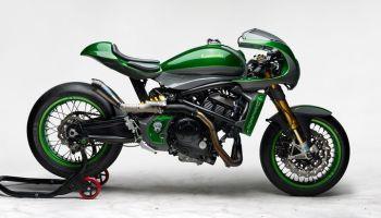 Kawasaki Vulcan S Cafe Racer ''The Underdog'' by Höly & Warm-Up
