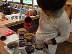 アアルトコーヒー豆を使い、丁寧にハンドドリップで淹れてます