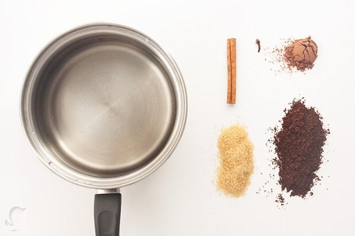 Café de olla mexicano: ingredientes