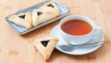 Galletas con té