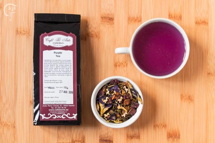 Purple tea Cafetearte