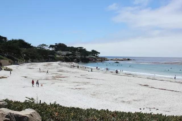 Dá até para pegar uma praia em Carmel!