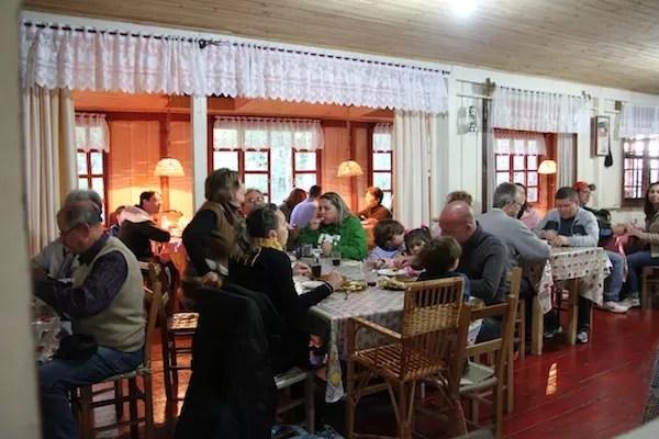 café colonial em Gramado