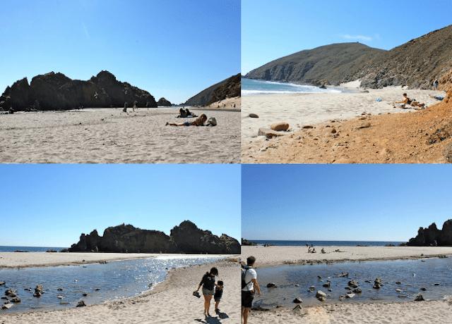 Praia de Pfeiffer Beach