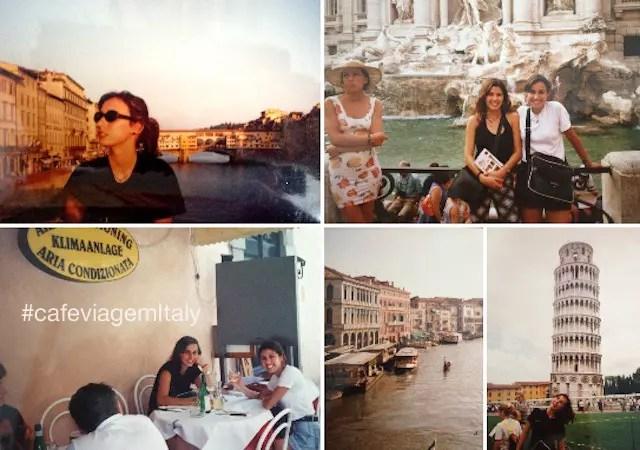 A Itália do tempo que não tinha internet e nem rugas no meu rosto...