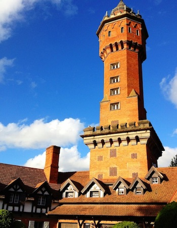 A torre do L'Auberge