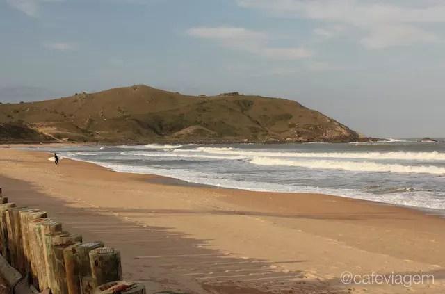 Praia da Silveira, canto norte