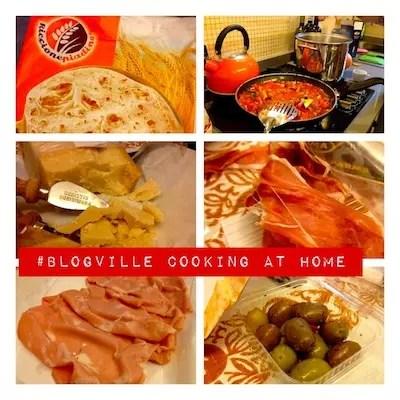 """Comendo em """"casa"""" - petiscos que fizemos no apartamento do Blog Ville"""