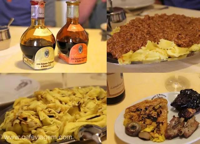 banquete da Osteria di Rubbiara