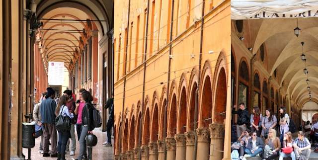 porticos de bologna