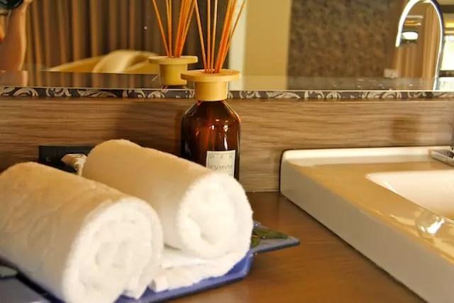 adorei o cheirinho eleito para perfumar os ambientes do hotel!