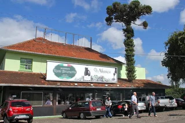 o restaurante Real Bruneta