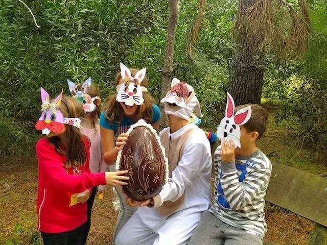 A recreação na Páscoa