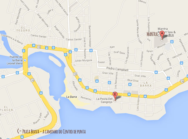 Mapa : Google Maps