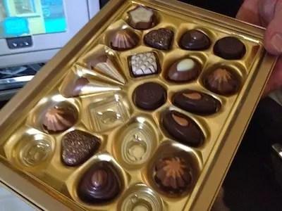 impossível resistir a um chocolate suíço...