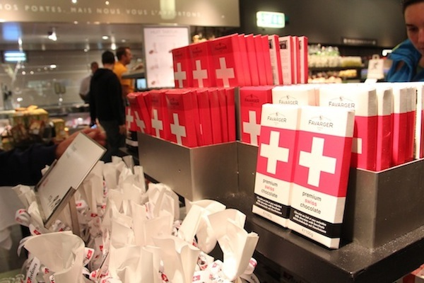 O item indispensável para trazer na mala: chocolates suíços!