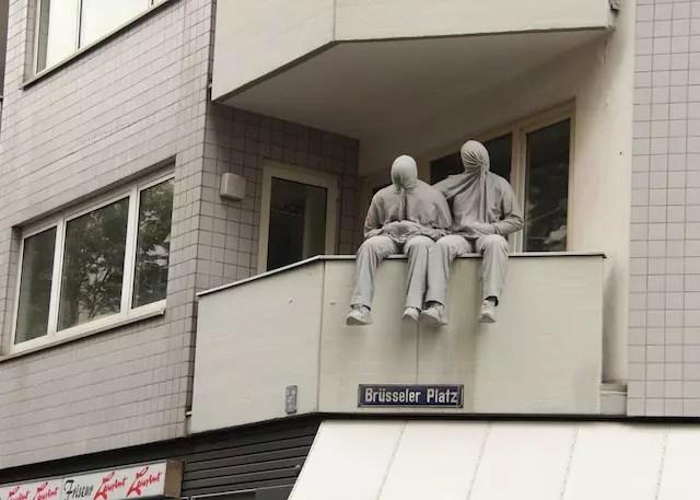 o astral descolado e artístico das ruas do bairro