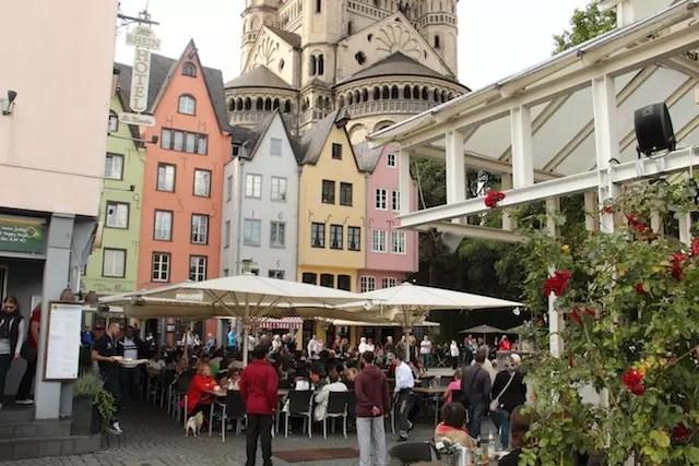 Fischmarket, uma das inúmeras praças que concentram cervejarias e animação garantida!