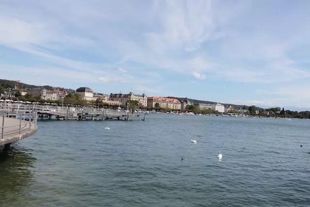 O Lago de Zurique merece um passeio!