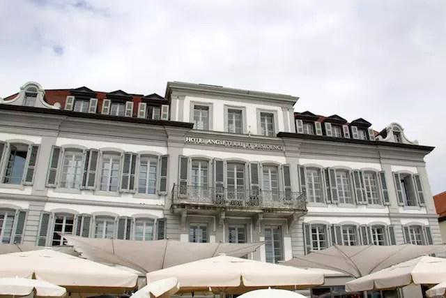 Lausanne, cidade dos hotéis de luxo