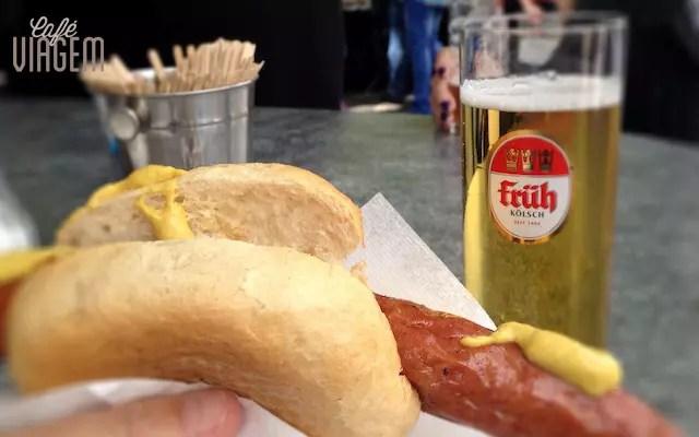 ficando viciada na salsicha com Kölsch Bier!