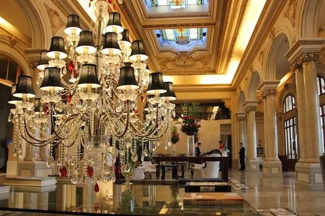 a recepção do hotel, mais detalhes no próximo post!