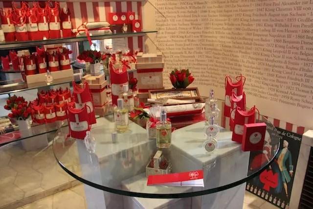 os perfumes da Farina, considerada a mais clássica de Colônia